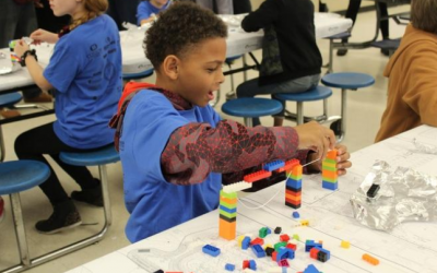 Savannah school children build future career dreams at Lego competition